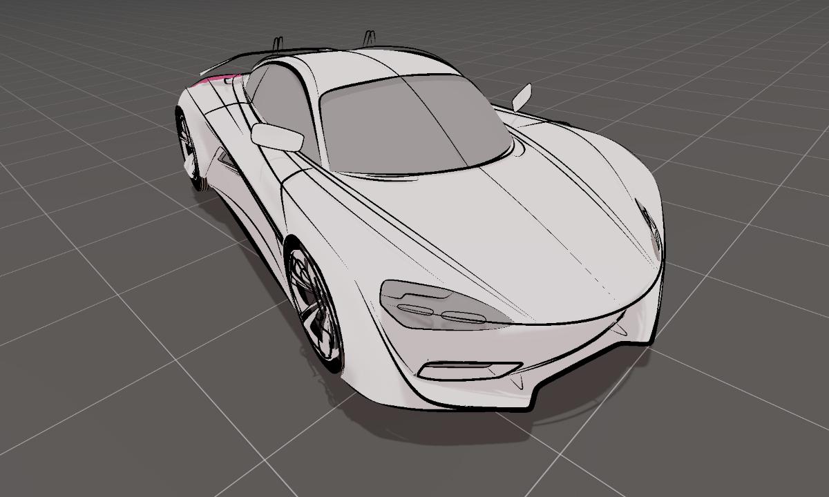Automotive design in VR