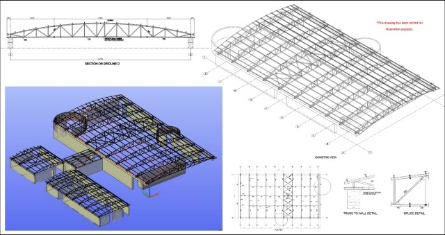 Curved Pipe Truss