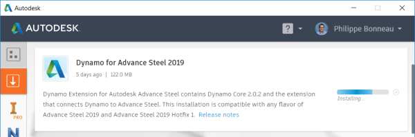 Complete the Installation of Dynamo for AS2019
