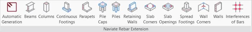Naviate Rebar Extension