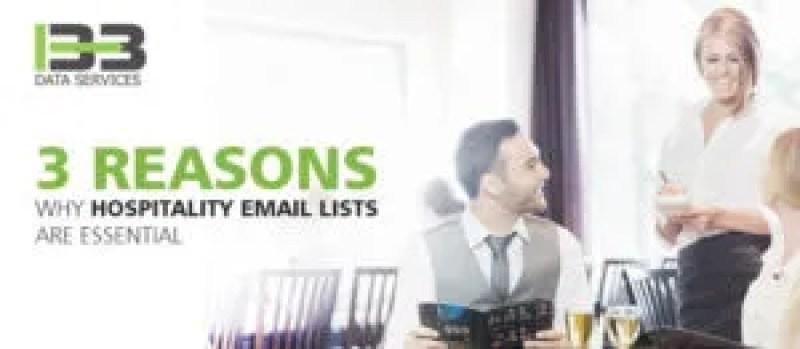 Hospitality Email Lists