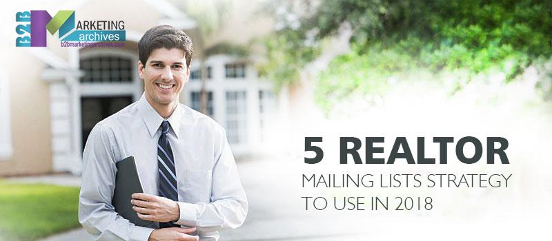 Realtor Mailing Lists