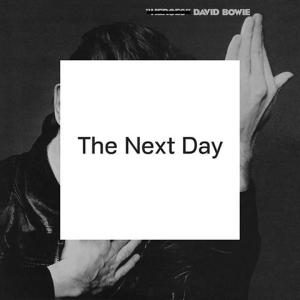 "The album cover of ""The Next Day"", David Bowie's latest album after more than a decade."