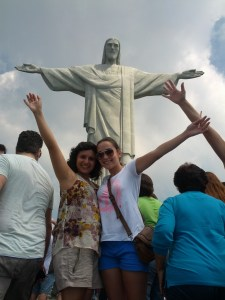 Me and Beatriz, the wonderful Babson Sophomore that took me around Rio on my day off!