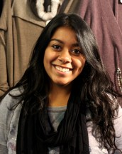 Kirti Nahar is gaining hands-on international marketing experience with Pashmere, an Umbrian, traditional Italian family-run cashmere clothing company. Nahar is currently studying abroad at The Umbra Institute in Perugia, Italy.