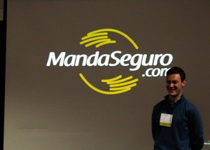 Matias Sevi'12 presenting at Beta Challenge