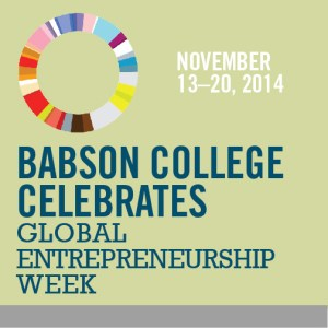 2014 Babson Global Entrepreneurship Week