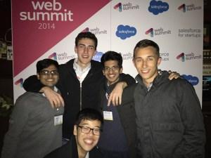 Ativ Patel '17 at the Web Summit