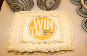 WIN Lab Cake