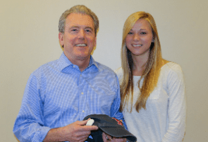 Emily Proos '15, founder of Bluewire Audio