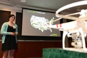 Abby Speicher M'15, Founder of DARTdrones