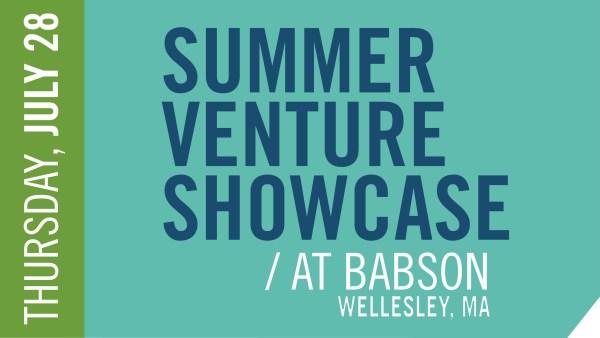 2016 Babson Summer Venture Showcase Wellesley