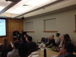 Glenn Rifkin at Summer Venture Program