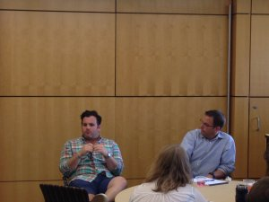 Chris Jacobs and Jeff D'Agostino at Summer Venture Program