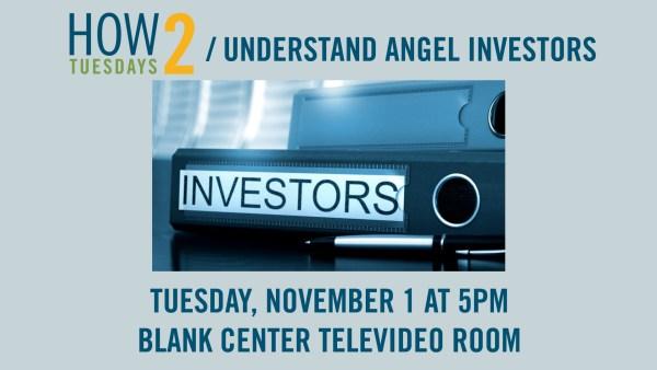 How 2 Understand Angel Investors