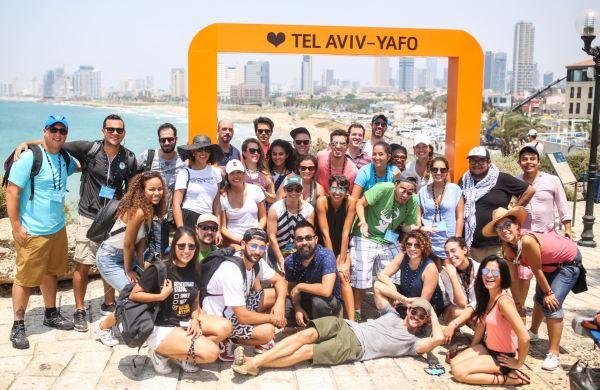 Carolina Pina in Tel Aviv