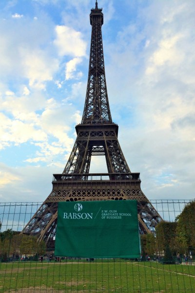 Babson at Tour d'Eiffel