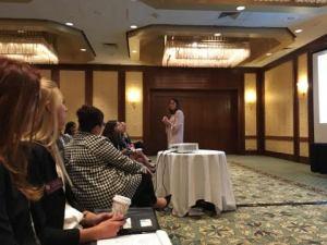 Jodi Glickman speaking at NAWMBA 2016