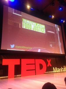 Good Food Takes Manhattan, BardMBA in NYC @TEDx