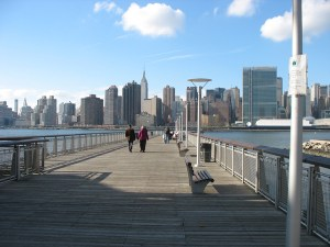 Hunters Point, one subway stop from Manhattan, is attracting higher-income residents.