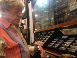 Stanton Blackmer, the owner of Fabulous Fanny's, has a passion for vintage and unusual eyewear.