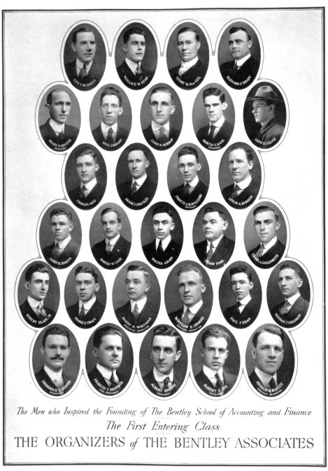 The Bentley Associates, our school's first students