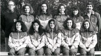 Women's Cross Country/Track, 1992. A formal women's team was not established until the 1980s; since then female athletes have won invitationals and received All-Regional recognition.