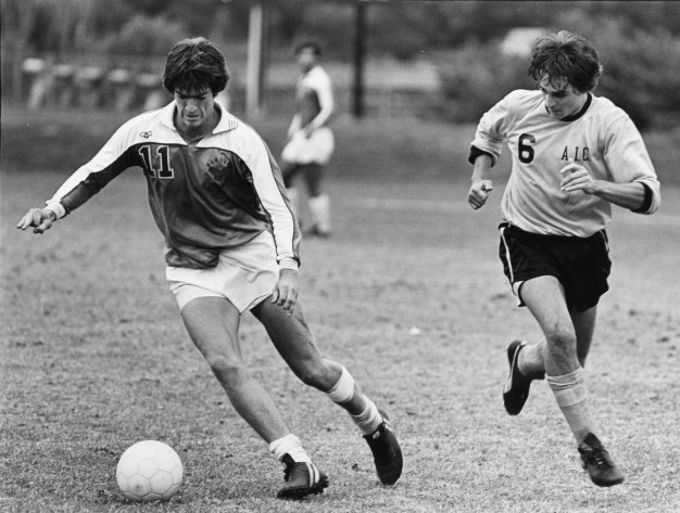 Men's Soccer, 1983. The team has sent many players to the All-Northeast soccer team, and has won several NE-10 conference championships.