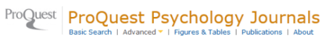 ProQuest Psychology Journals