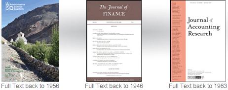 Business Source Complete journals