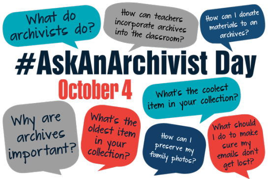 #AskAnArchivist
