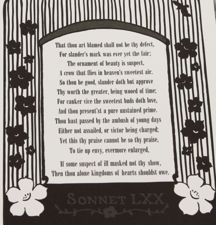 """sonnet 69 Now's the time for """"american sonnets for my past and future  the past and  future assassin directly, as in the mournful sonnet 69: """"can we."""