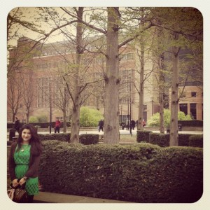 Here I am today, a Finance Assistant Manager at the Department of Health. I have to pinch myself sometimes! 20th April 2012 in front of the building where I work; Quarry House, Leeds.