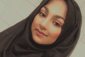 Headshot of Hajrah Siddique, a postgraduate student at the University.