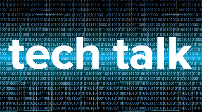 APRIL TECH TALK WITH JOHN RUDY:  FACEBOOK