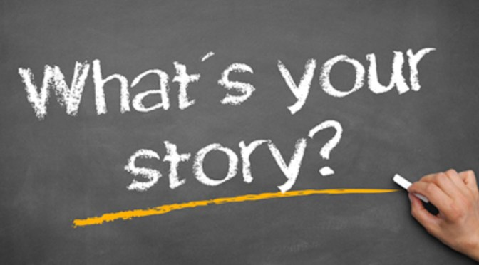 WHAT'S YOUR STORY?  THE RED BELT by Charlie Raskin