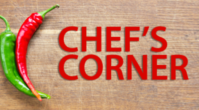 JANUARY CHEF'S CORNER WITH JOHN RUDY:  KITCHEN THINKING
