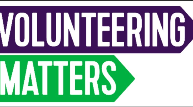 VOLUNTEERING MATTERS:  Meeting Cheryl