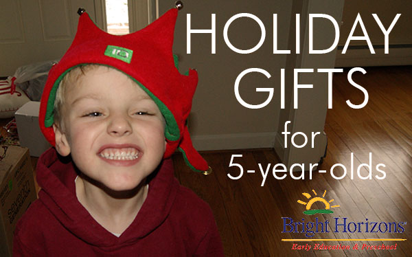 Holiday Gifts For 5 Year Olds