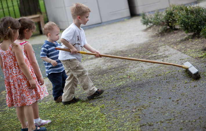 Household Chores That Kids Can Really Help With