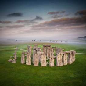Stonehenge in landscape (c) English Heritage credit Andre Pattenden