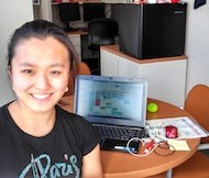Angelia Wang, UG '16