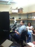 Kara and Carlos at MBL