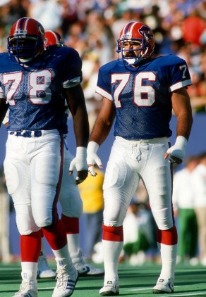 Fred Smerlas, Bruce Smith