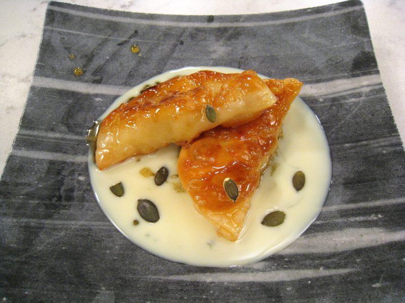Empanadillas de leche frita