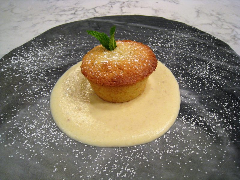 Pastel dulce de Boniato