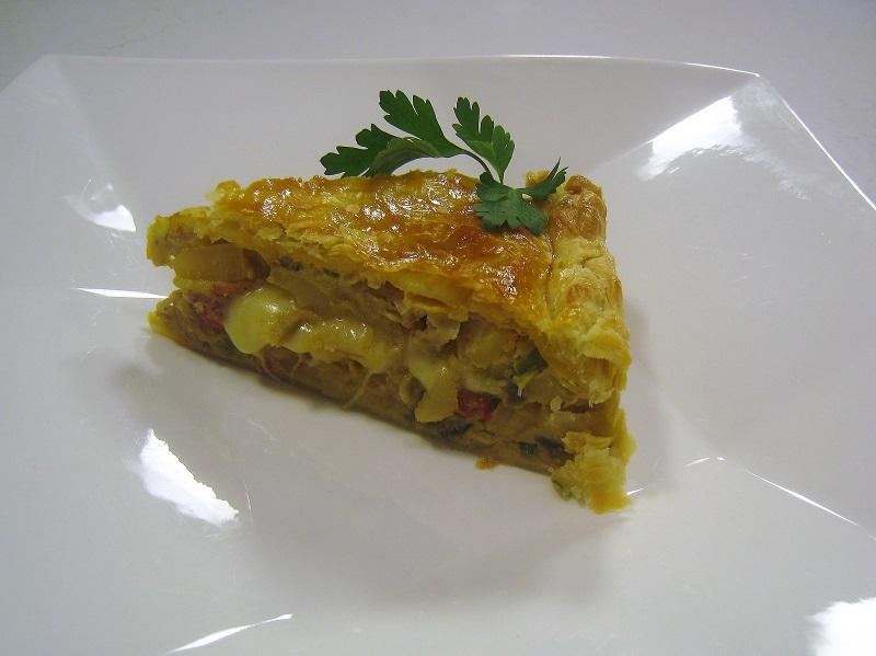 Tortilla campera en Hojaldre