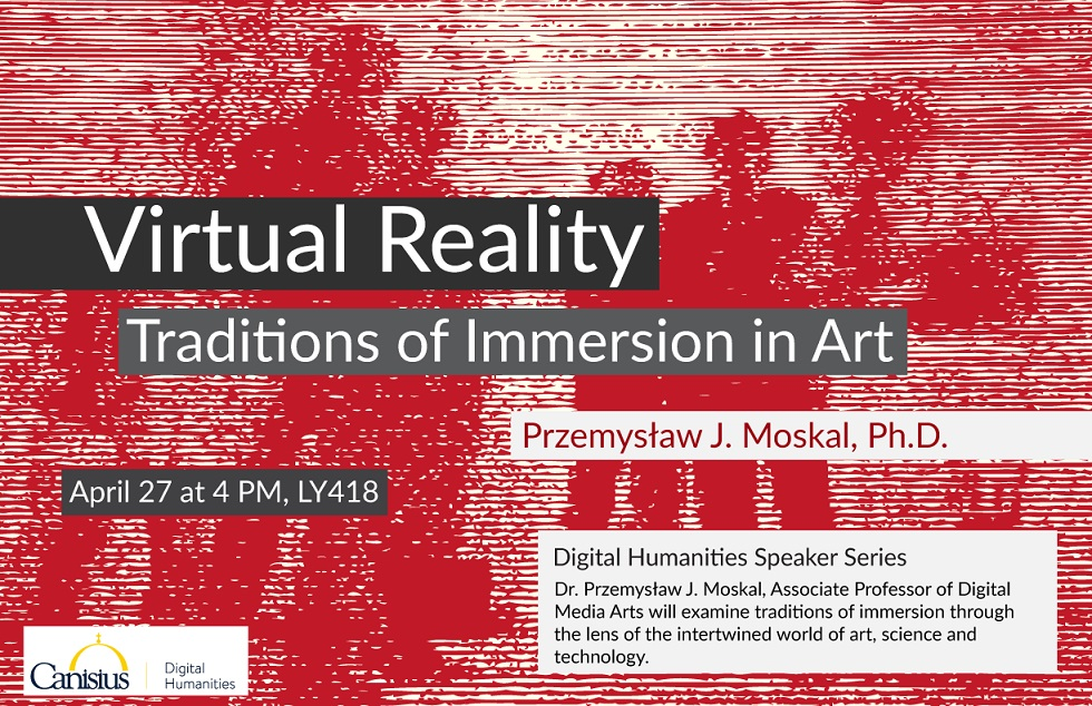 Digital Humanities Speaker Series: Dr. P.J. Moskal.  This Thursday!