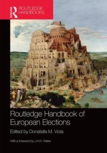 Routledge handbook of European elections / edited by Donatella M. Viola