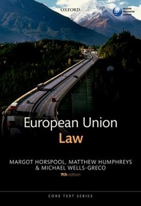 European Union law / Margot Horspool et al.
